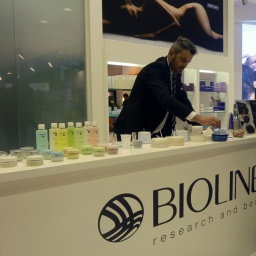 L'area Touch and Feel di Bioline