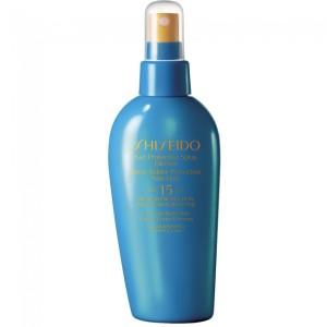 shiseido protezione solare spray