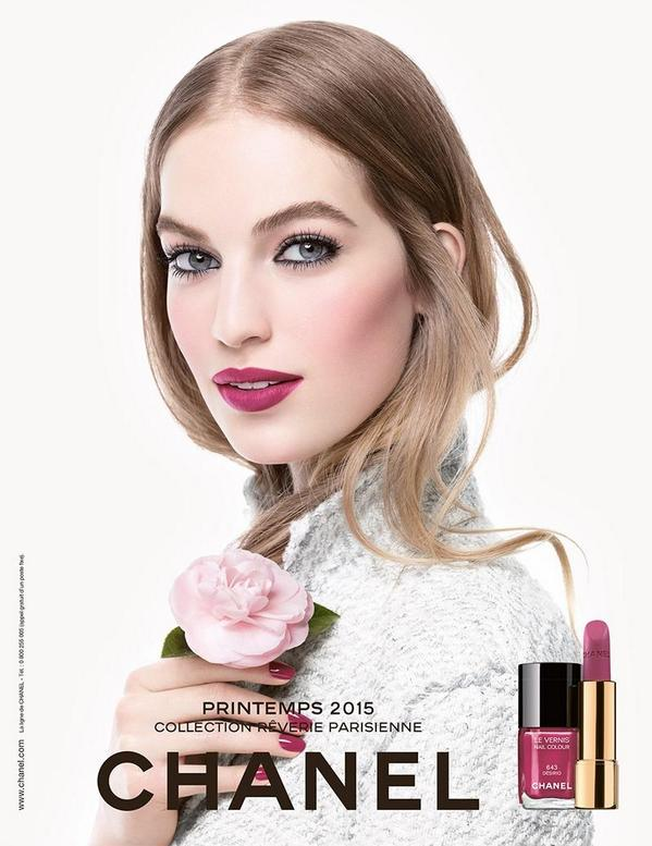 Chanel Primavera 2015 make up