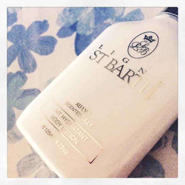 Ligne #StBarth ... Un sogno questa crema al #giglio #instabeauty #beauty #skincare #bbloggers #bodycream