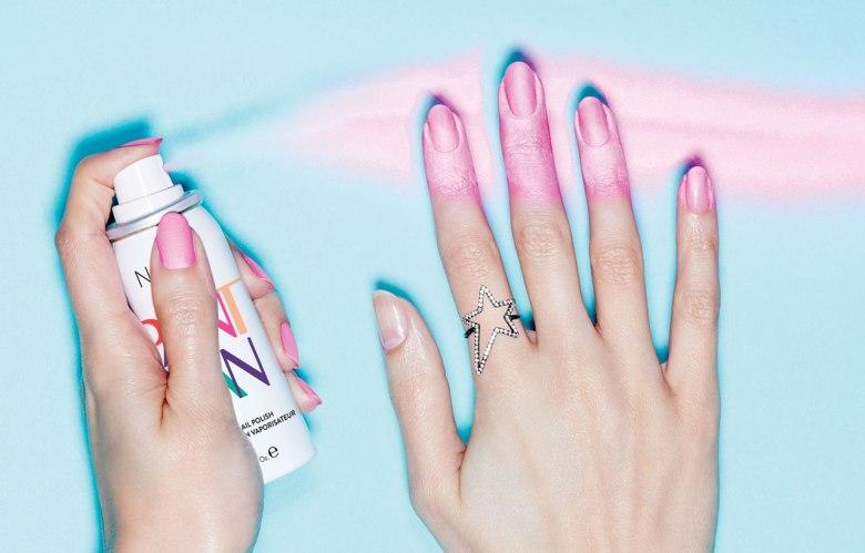 smalto spray Nails Inc