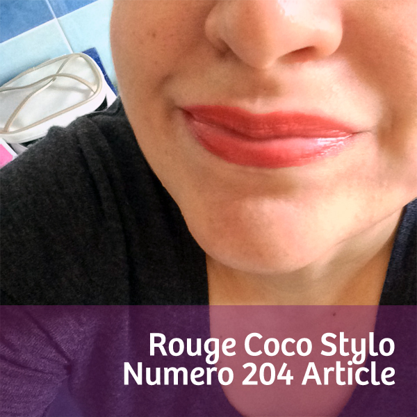 Rouge Coco Stylo Article