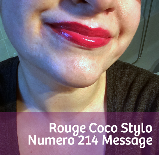 Rouge Coco Stylo Message