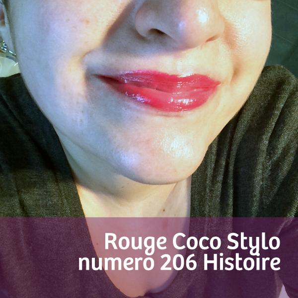 Rouge Coco Stylo Histoire