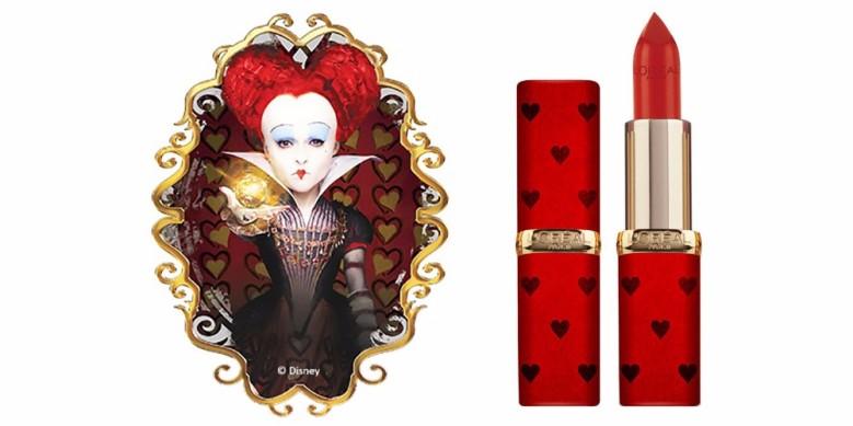 rossetti collezione alice l'oreal regina di cuori