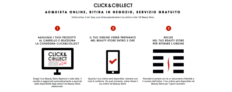 SEPHORA Click and Collect