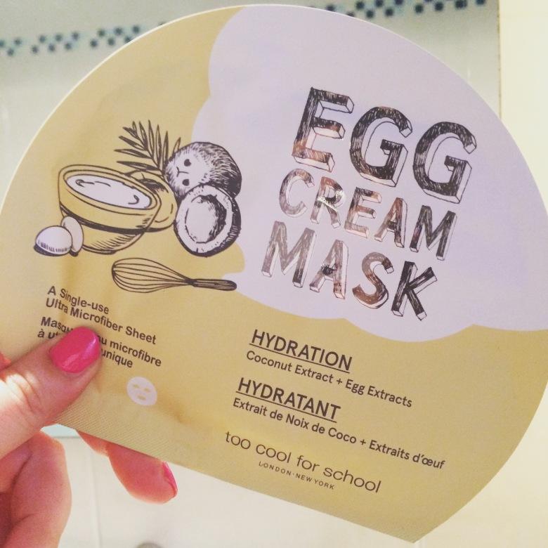 Maschere viso uovo