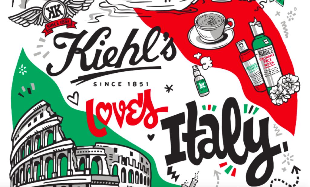 kiehls party a Bergamo