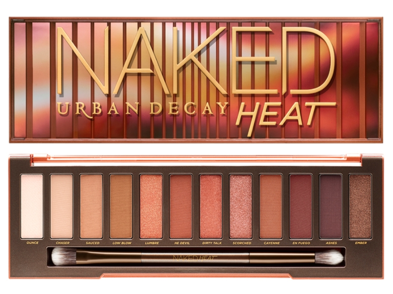 Palette Autunno 2017 - Naked Heat