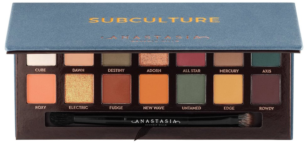Palette Autunno 2017 - Subculture